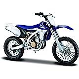 Maisto Kit de Montaje del Modelo Yamaha YZ450F, Escala 1:12 39195