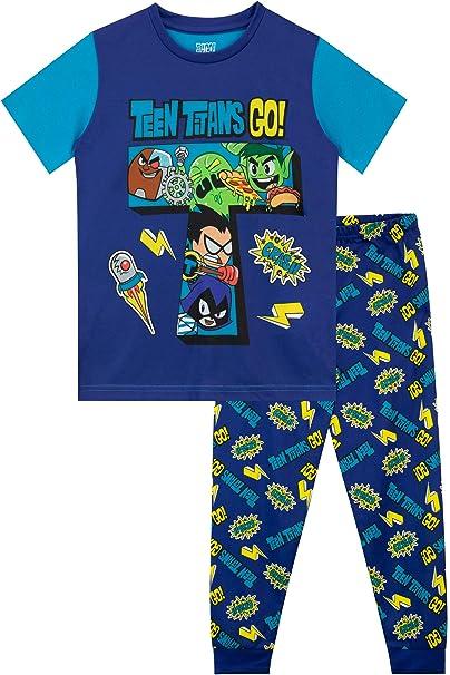 Teen Titans Go! Pijamas de Manga Larga para niños