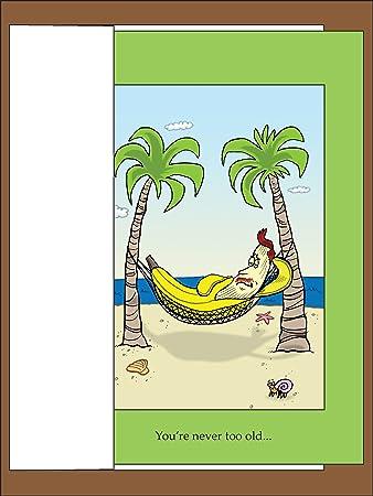 banana hammock   funny birthday greeting card by paper bound greetings amazon     banana hammock   funny birthday greeting card by      rh   amazon