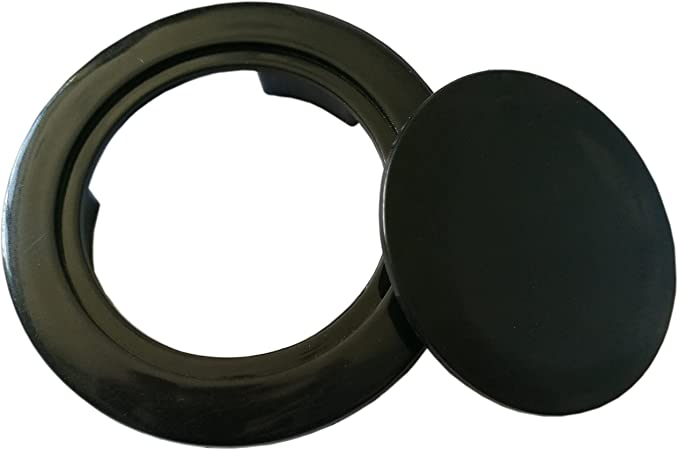 CNSSKJ 2 Umbrella Hole Ring Plug Set for Glass Outdoors Patio Table 2pcs