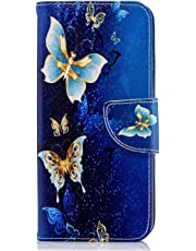 Samsung Galaxy J6 Case, [Wallet Case] Premium Soft PU Leather Notebook Wallet Case with Kickstand Function Card Holder and ID Slot Slim Flip Protective Skin Cover for Samsung Galaxy J6