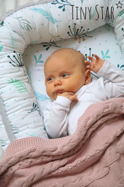 Baby Cocon Pour B/éb/é r/éducteur respirant Nourrisson nid 0-6 m TinyStar