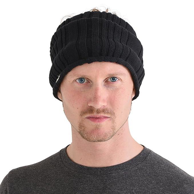 Casualbox mens headband Neck Warmer Japanese Hair Accessory Sports Black d9a3b8eb12b