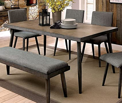 William S Home Furnishing Cm3360t Vilhelm I Dining Table Gray