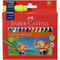Faber-Castell Jumbo Wax Crayons - 24 Shades
