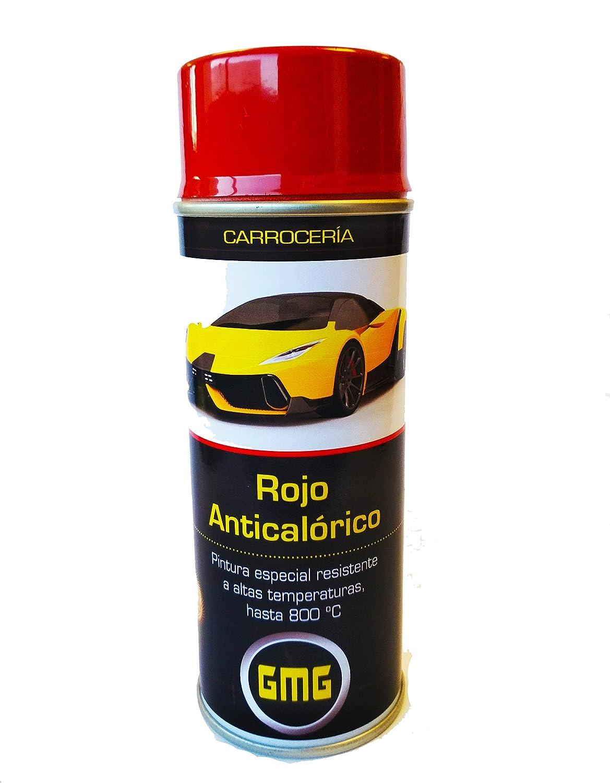 ROJO ANTICALORICO 800º SPRAY 400ml (Pinzas de freno..etc) GMG