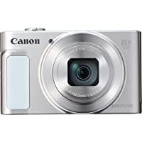 Canon Powershot Sx620 Hs Fotoğraf Makinesi, Full HD (1080p), Beyaz, 2 Yıl Canon Eurasia Garantili