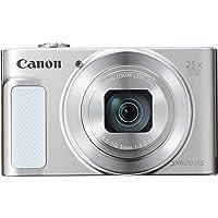 Canon PowerShot SX620 HS Digitalkamera (20,2 MP, 25-fach optischer Zoom, 50-fach ZoomPlus, 7,5cm (3 Zoll) Display, opt Bildstabilisator, WLAN, NFC) silber