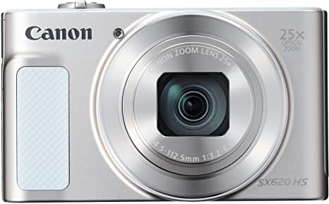 Canon PowerShot SX620 HS Digitalkamera (20,2 Megapixel, 25-fach optischer Zoom, 50-fach ZoomPlus, 7,5cm (3 Zoll) Display, opt
