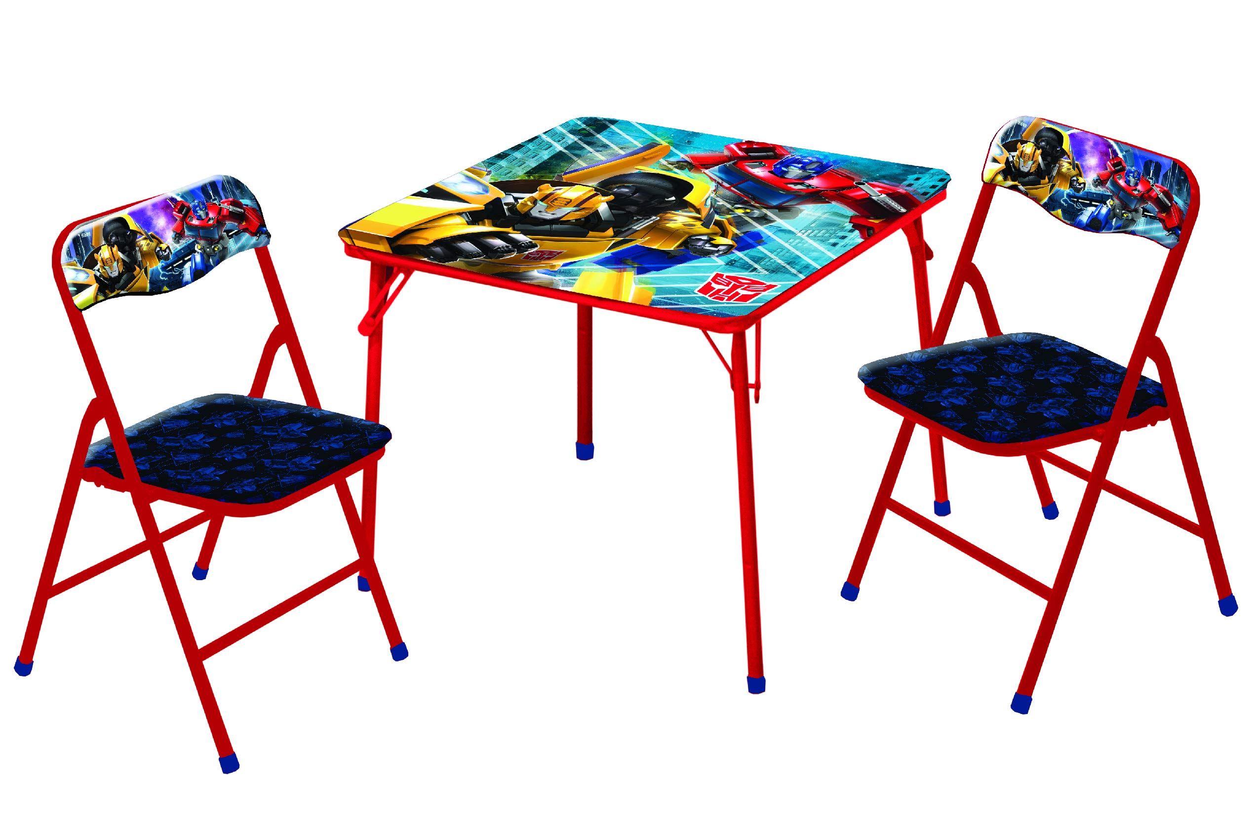 Hasbro Transformers Bumble Bee 3 Pc Table & Chair Set, Yellow