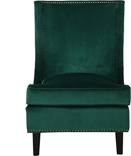 Christopher Knight Home 296306 Brayden Mid-Century Velvet Accent Chair