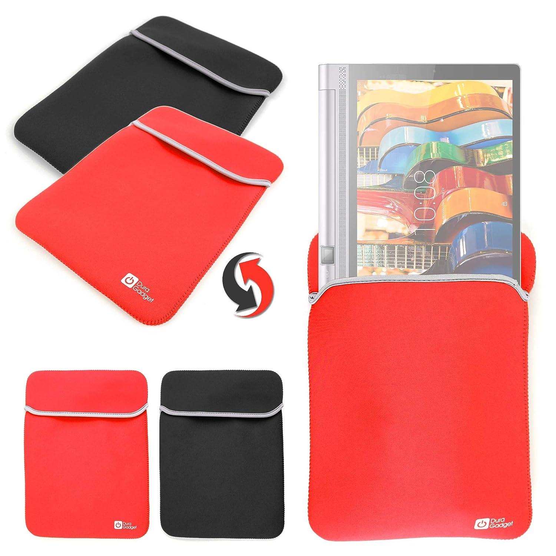 DURAGADGET Funda Reversible Roja Y Negra para Tablet Lenovo ...