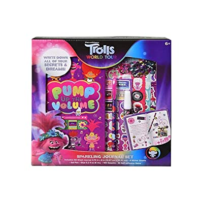 Innovative Designs Trolls World Tour Sparkling Journal Set Standard: Toys & Games