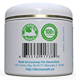 DermaSafe Stretch Mark Removal Cream - Scar Remover Creme - Advanced Moisturizer To Prevent and Diminish Marks and Scars - Large 4 oz