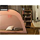 DDASUMI Warm Tent for Single Bed without Floor - Indoor Tent