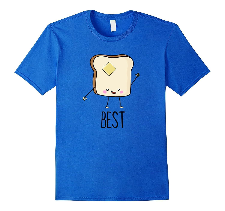 Bread And Butter Cute Kawaii T-Shirt Cute BFF Shirts-FL - Sunflowershirt ab6495c35e53