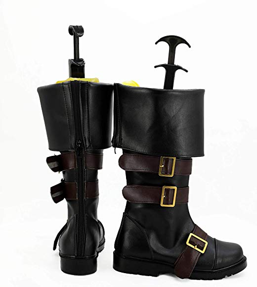 Telacos NieR Automata 2B Boots Cosplay Shoes Boots Custom Made