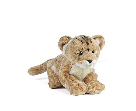 Amazon Com Lion Cub Soft Plush Toy Animal Toys Games
