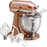 Kitchenaid kp26m1xce professional 600 series 6 quart bowl lift stand mixer copper pearl amazon - Copper pearl kitchenaid mixer ...