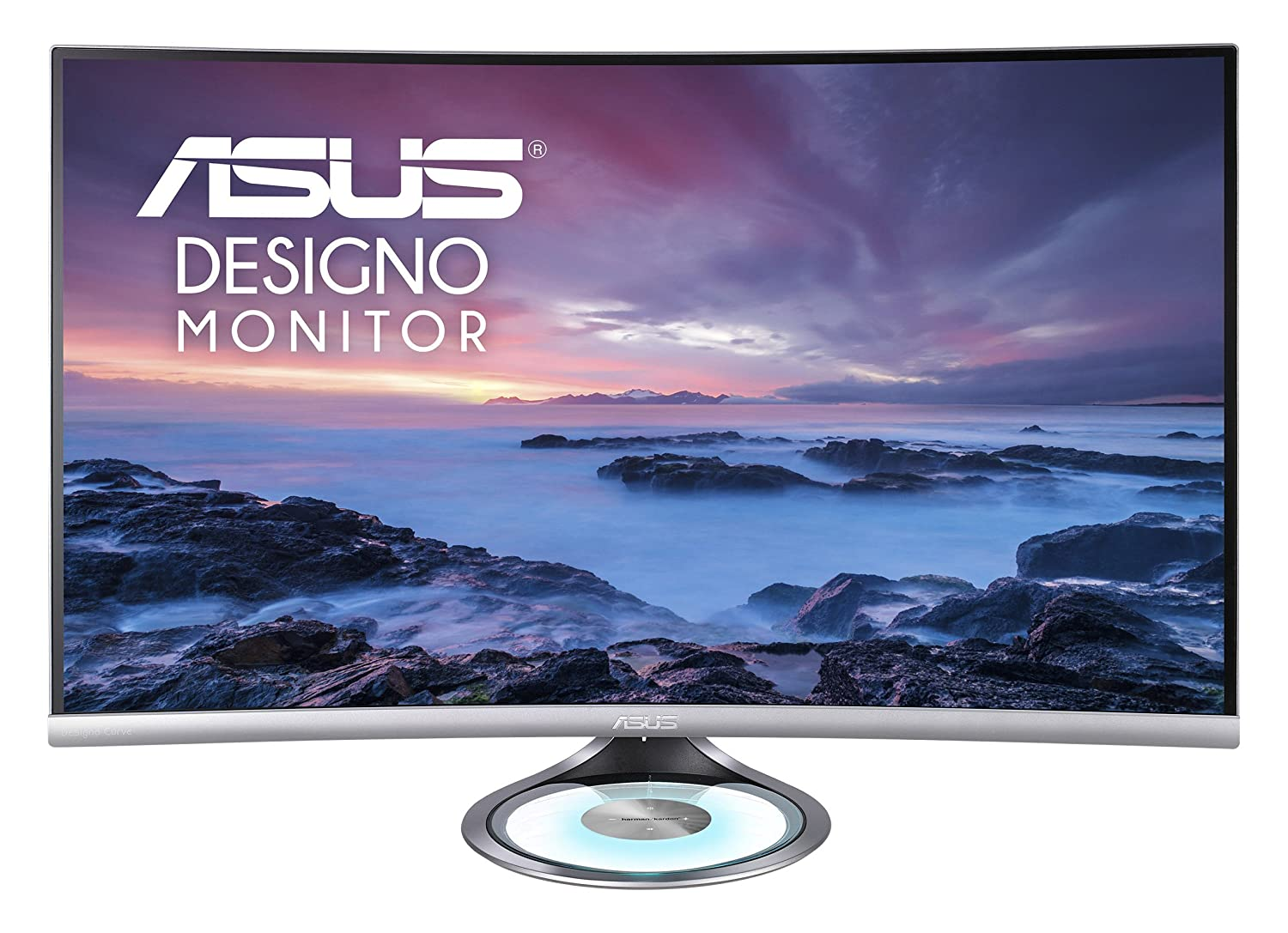 "Asus MX32VQ Designo Curved 31 5"" Monitor WQHD 75Hz DP HDMI Eye Care Monitor  with Adaptive-Sync, 31 5"