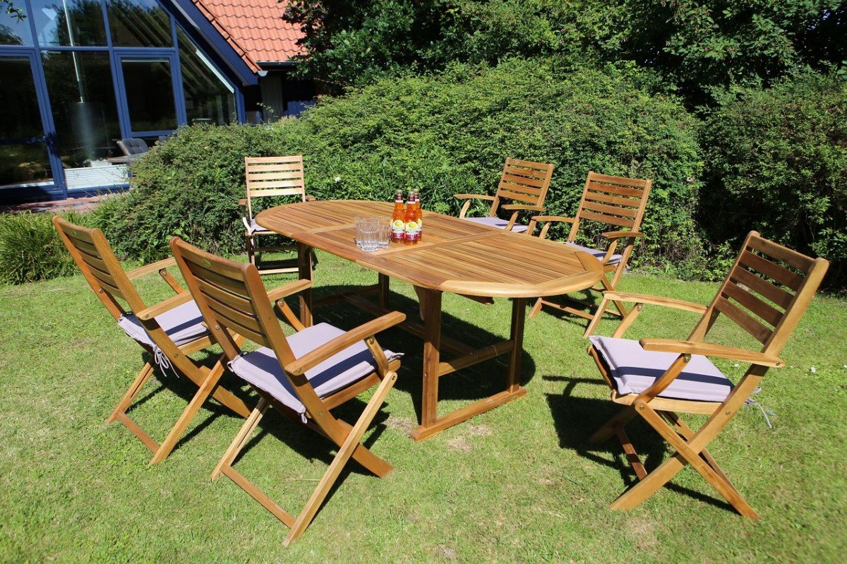 Dreams4home Gartenmöbelset Madison Loungemöbel Gartenmöbel