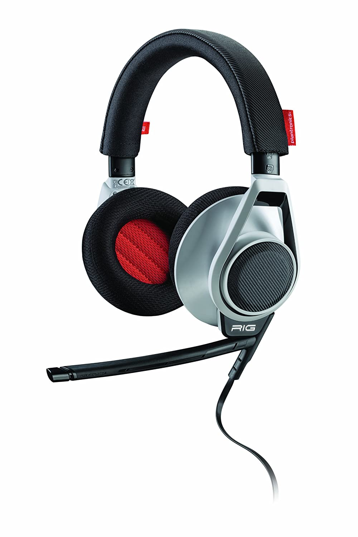 RIG Plantronics Stereo Headset and Mixer White: Amazon.co