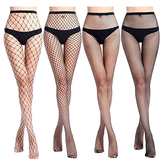 One Size New 100% Quality Andibeiqi Upgrade Fish-net Tights Black