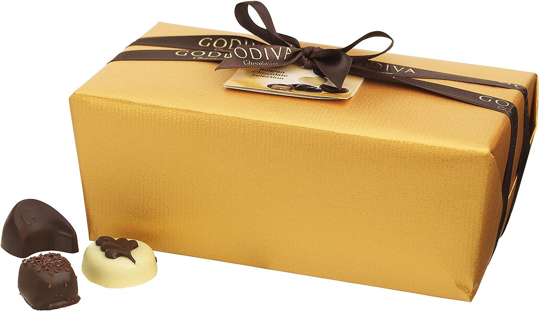 Godiva, Gold Ballotin bombones pralines surtidos 80 piezas, 1000g ...