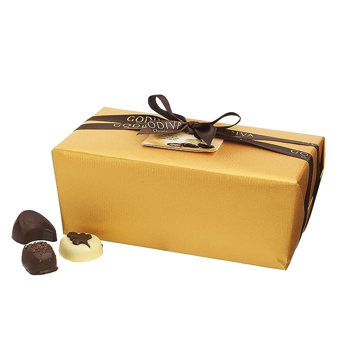 Godiva, Gold Ballotin bombones pralines surtidos 80 piezas, 1000g