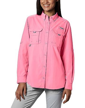 6aacd98c296 Columbia Women s PFG Bahama Ii Long Sleeve Shirt