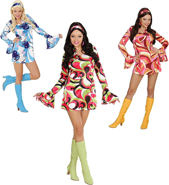 Widman - Disfraz de disco para mujer, talla L, surtido: modelos ...