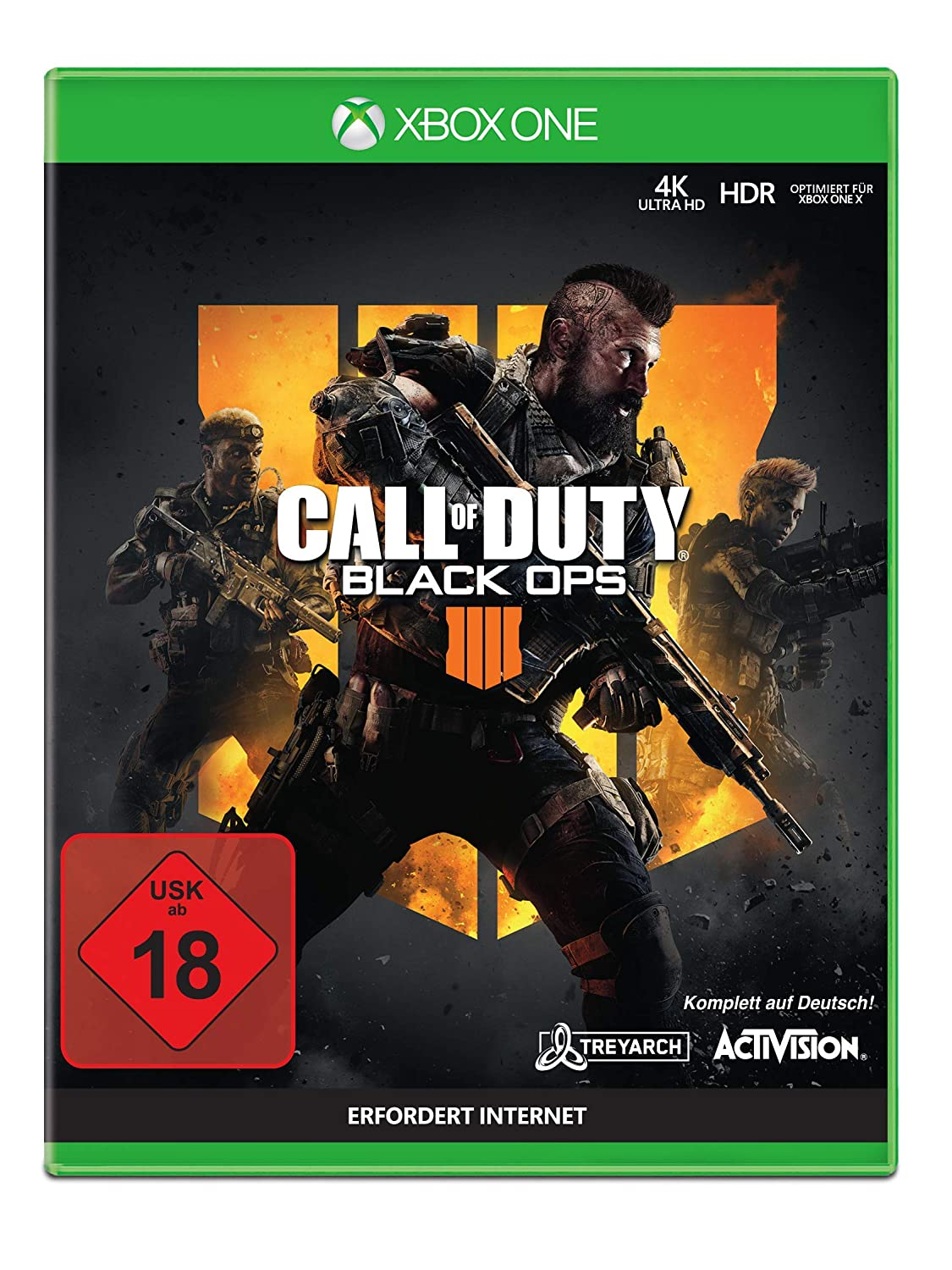 [amazon.de] Call of Duty Black Ops 4 Xbox One um 12,09€ anstatt 22,38€