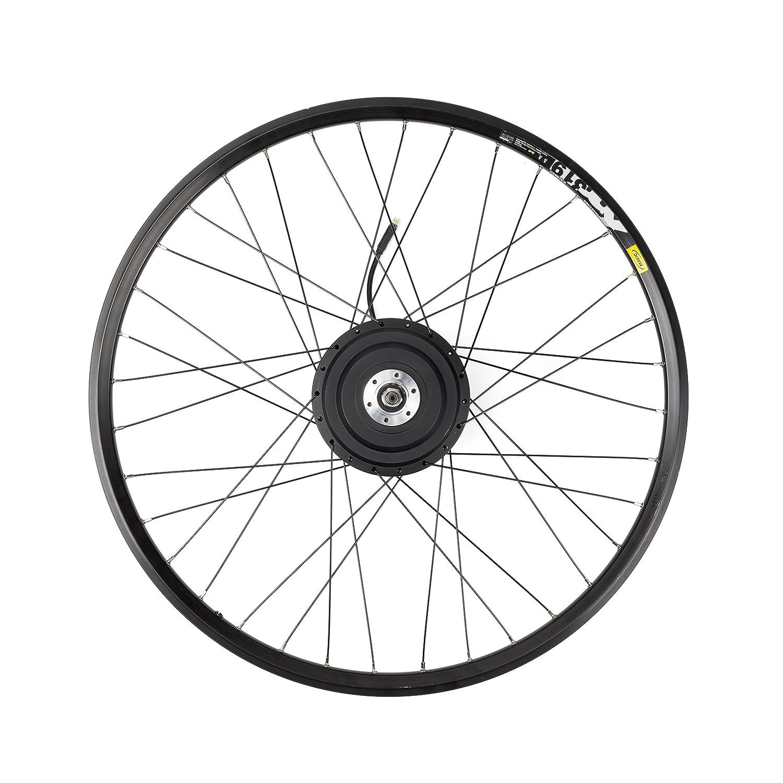 eBike75 02030201 Kit de Conversión a Bicicleta Eléctrica, Unisex Adulto, Negro, 26