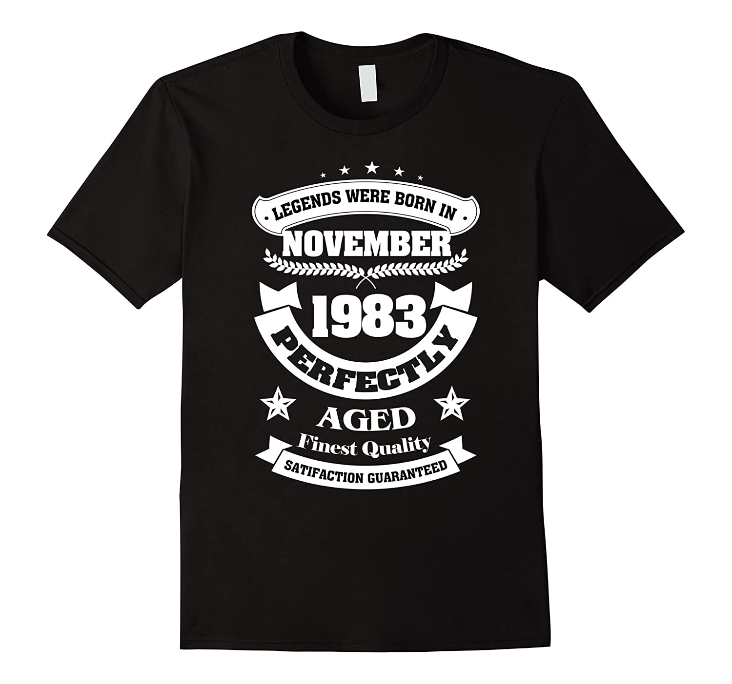 Legends Were Born In November 1983 Shirt 34th Birthday Gift-Rose