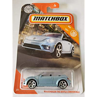 Matchbox 2020 MBX City 2/100 - Volkswagen The Beetle Convertible: Toys & Games