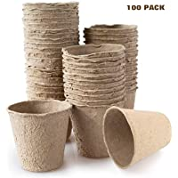 Housolution Recycled Seed Starting pots, [100 PCS] 3