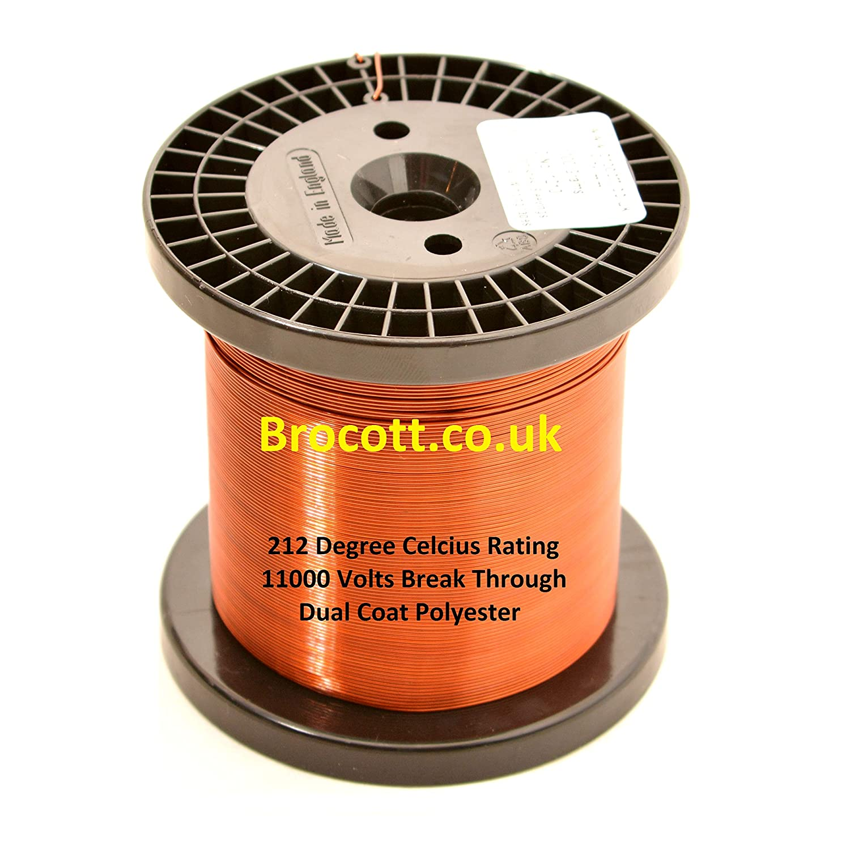 212/Grado Celcius 2.50/mm x 1000/g/ /Alambre de Cobre de esmaltado /Índice de temperatura dual Coat alambre de im/án de esmaltado