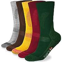 Calcetines de Senderismo de Lana Merino, para hombre y mujer, 3 o 1 pares, calcetines de trekking y montaña, calcetines térmicos para actividades al aire libre, uso diario en el invierno, antiampollas
