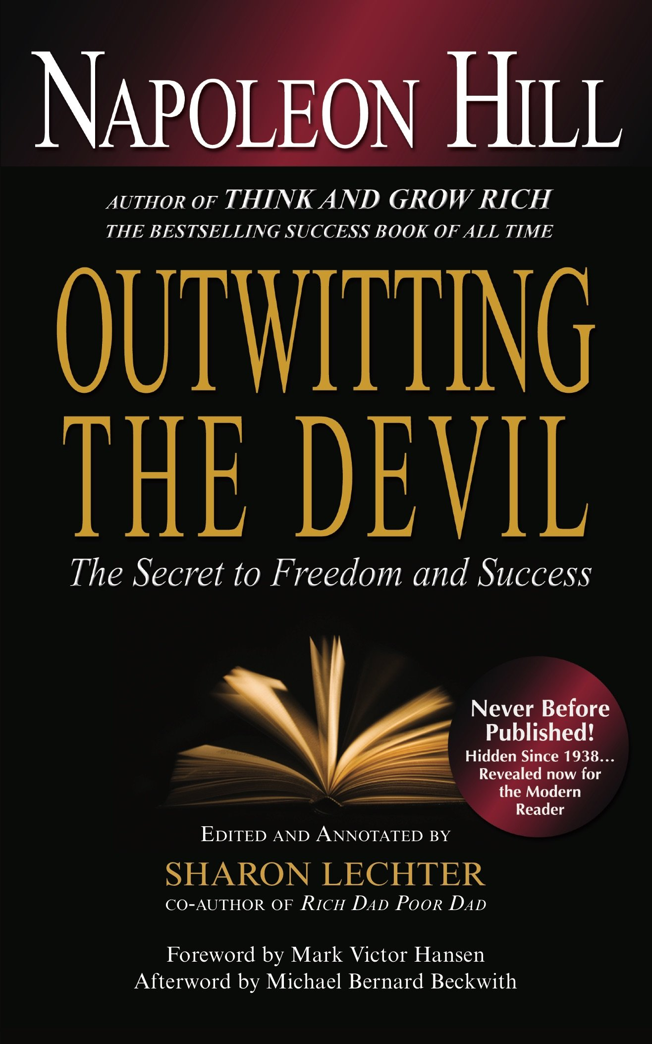 Outwitting the devil the secret to freedom and success napoleon the secret to freedom and success napoleon hill sharon l lechter cpa michael bernard beckwith mark victor hansen 9781454900672 amazon books solutioingenieria Image collections