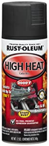 Rust-Oleum 248903 Automotive 12-Ounce High Heat 2000 Degree Spray Paint