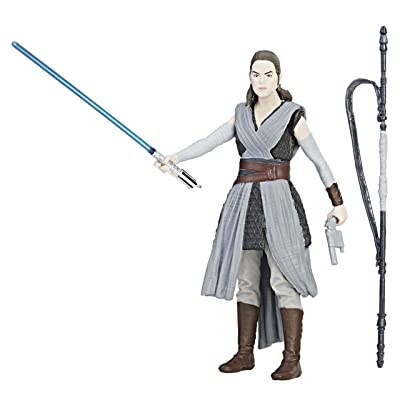 Star Wars: The Last Jedi Rey (Jedi Training) Force Link Figure 3.75 Inches: Toys & Games