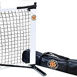 Amazin' Aces Portable Pickleball Net | Premium Net Set Includes Easy-Snap Metal Frame, Tension Strap Net, & Carry Bag for Eas