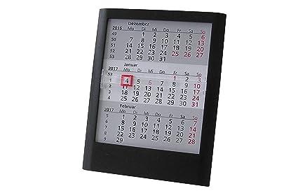 Calendario de mesa (3 meses 2017/2018 para completa 2 años mesa ...