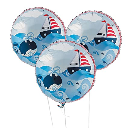Amazon.com: Sailor Anchors Aweigh Fiesta de cumpleaños ...