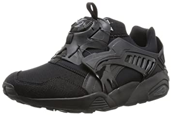 4c41da590536 Puma TRINOMIC DISC BLAZE Black Unisex Sneakers Shoes  Amazon.co.uk ...