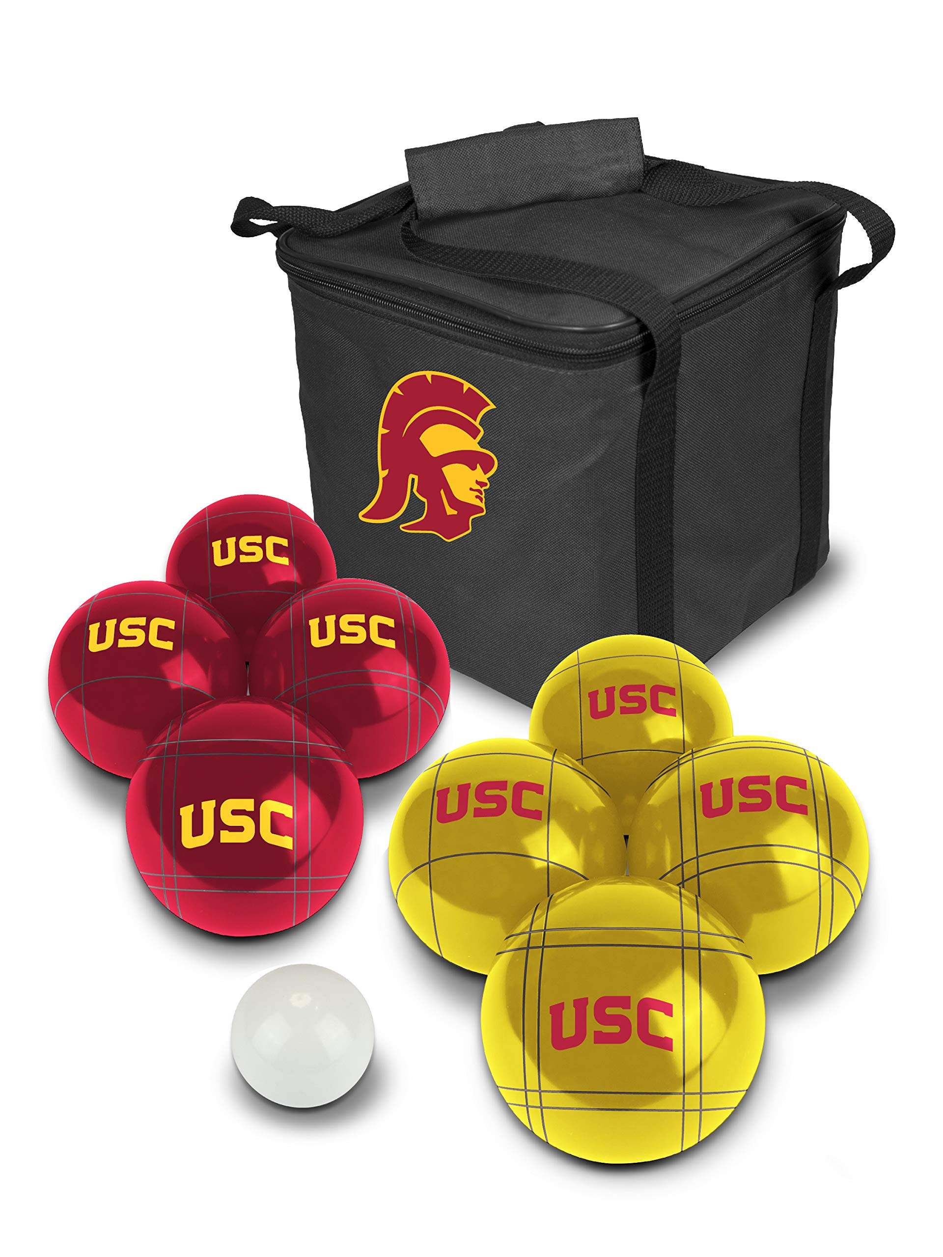 PROLINE NCAA College USC Trojans Bocce Ball Set by PROLINE