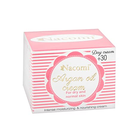 NACOMI Argan Oil Cream Crema de día de Argan con vitamina E 30+ 50ml