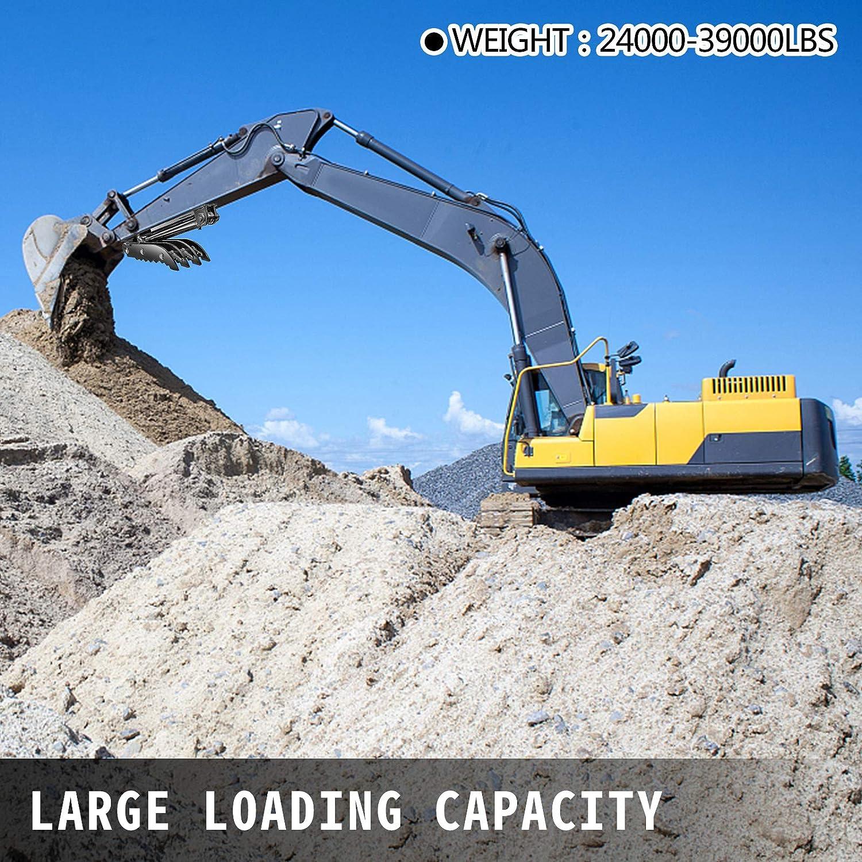 18x50 Weld On Backhoe Thumb Tractor AR400 Steel Excavator Thumb for Backhoe VEVOR Backhoe Thumb Heavy Duty Hydraulic Excavator Thumb Excavator 4-Teeth 24000-39000 lbs Excavator Thumb Attachment