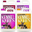 Pro-Kleen Kennel Kleen Cleaner & Deodoriser (Lavender, Lemon, Cherry and Bubblegum Fragrance) - 20L Pack