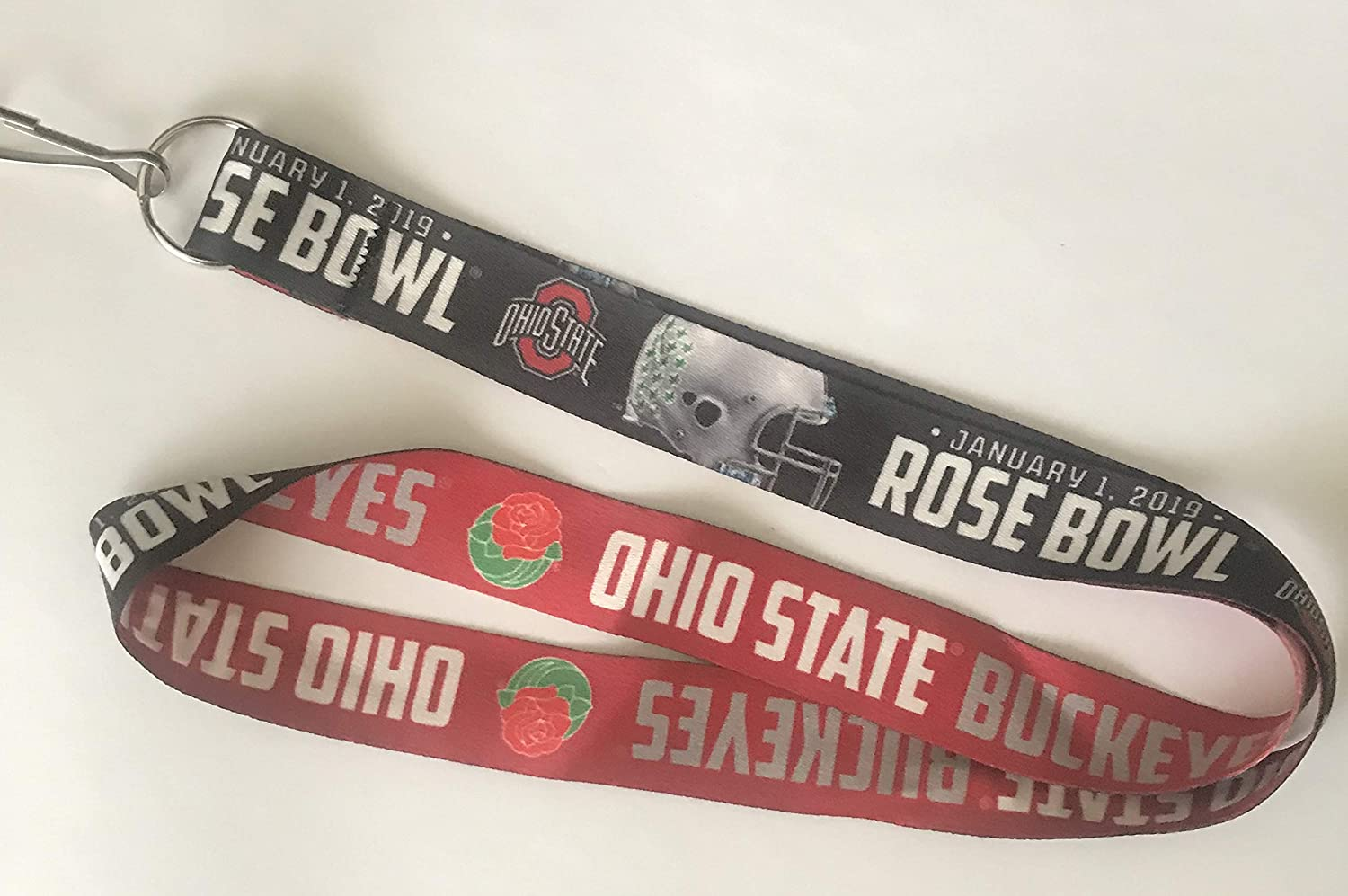 NCAA 2019 Rosebowl Ohio State University Lanyard